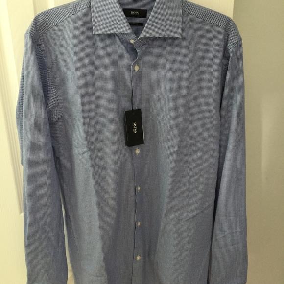 f8c9261f Hugo Boss Shirts | Mens Sharp Fit Dress Shirt Brand New | Poshmark